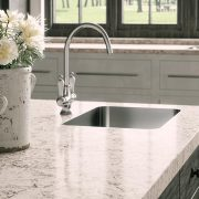 5143 White Attica Absolute Kitchen Granite