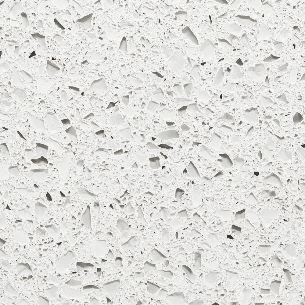 alpine white, recycled glass, IceStone