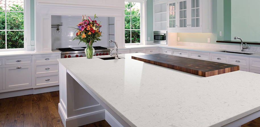 Glacier White Quartz Absolute Kitchen Amp Granite