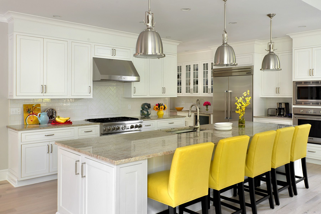 Shaker/Concord Rtf White Satin | Absolute Kitchen & Granite